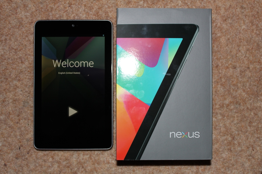 Google Nexus 7 - Initial Thoughts (1/2)
