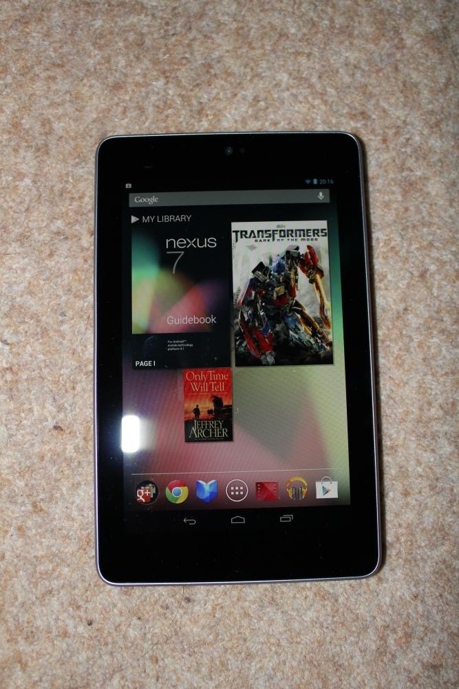 Google Nexus 7 - Initial Thoughts (2/2)